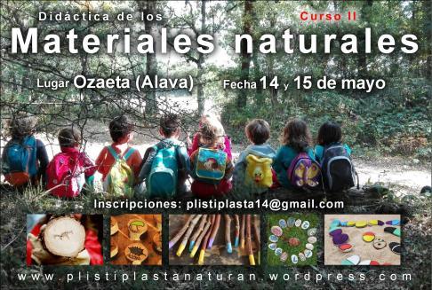 Didáctica de los materiales naturales