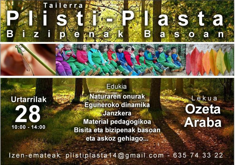 plisti-plasta-bizipenak-basoan
