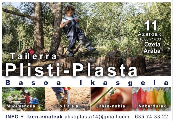 Plisti-Plasta Basoa Ikasgela